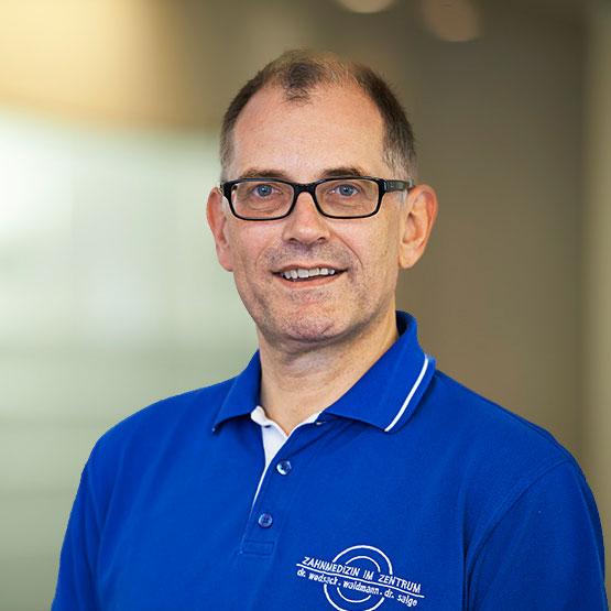 Porträt Dr. Peter Salge
